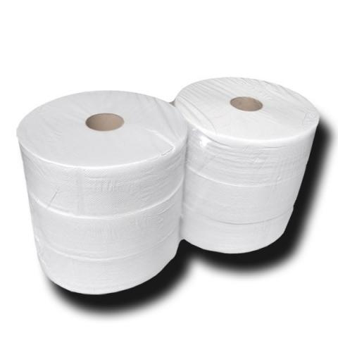 Toilettenpapier Jumborolle , 2-lagig, 6 Rollen à 335m