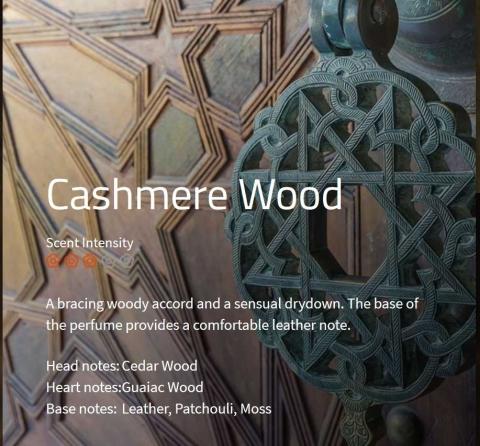 Cashmere Wood ***  Ein kräftiges, holziges und dennoch sinnliches Parfüm  VE: 200ml