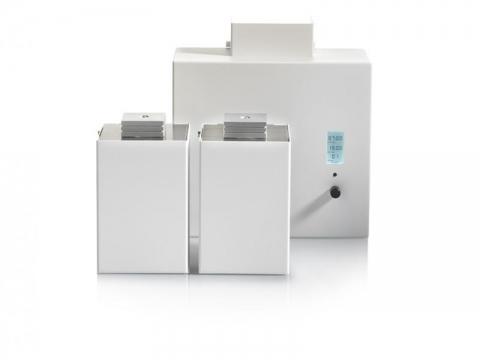 Aromamaschine Zaluti Air:3 Wandmontage mit 2 Duftverteilern