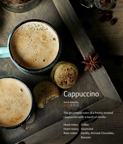 Cappuccino  Ambiance Aromaöl 200 ml