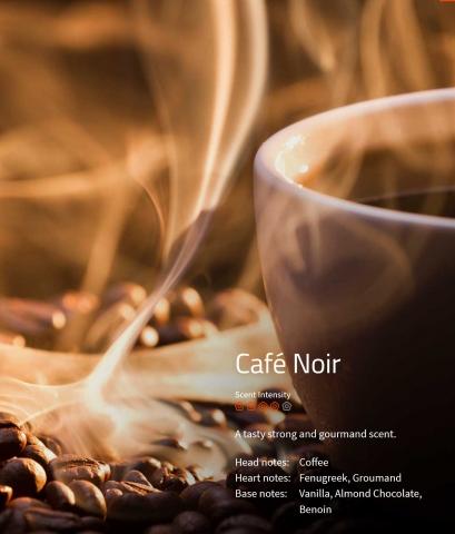Café Noir Ein verlockender Duft für alle Kaffeeliebhaber.