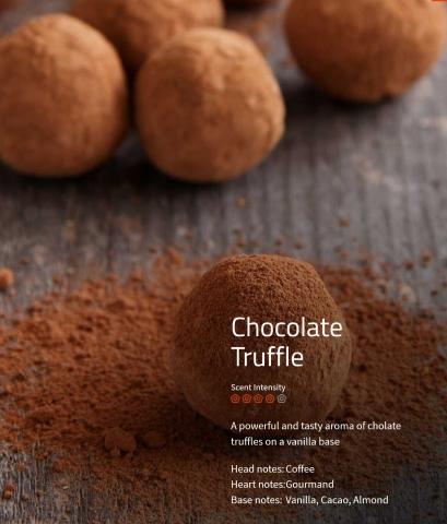 Chocolate Truffle Aromaöl 200ml Der fesselnde Duft von echter Schokolade und Kakaobohnen.