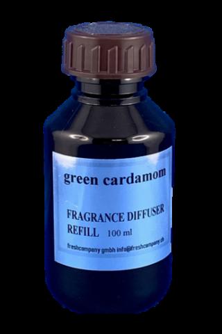 - Green Cardamom - schon die alten Ägypter nutzen dieses Parfum mit einer würzig, holzigen Note und einer gewissen Süsse.