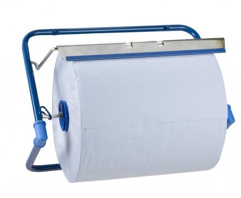 Putztuchrollen-Spender, Wandhalter aus Stahl 2 Stück