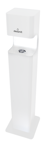 Desinfektionssäule 5 Liter Inhalt Premium Sensor non touch DISTA  -weiss