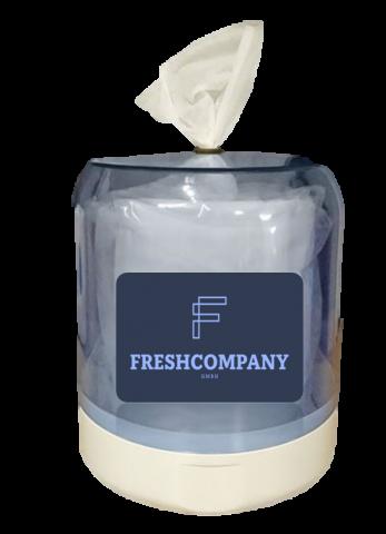 Wandspender Basic für Wet Wipe  Desinfektionstücher Reinigungstücher 620 / 750 Blatt