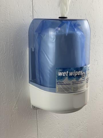 Wet Wipe Wandspender 620