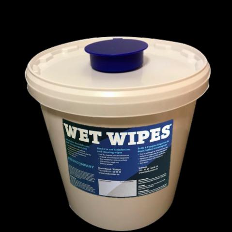 Dosierspender für getränkte Wet Wipes