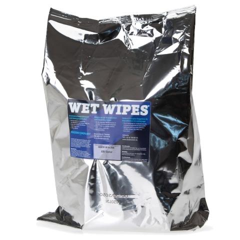 Wet Wipes Desinfektionstücher Reinigungstücher Flächendesinfektion, 12 Rollen à 310 Blatt