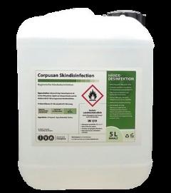 Händedesinfektion 5000ml Desinfektionsmittel Corpusan Skin Disinfection 5 L VAH Listung rückfettend Praxis Hygiene