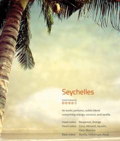 Seychelles Aromaöl 200ml  Exotik pur – Orange, Kokos und Vanille.