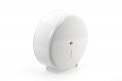 SemyTop Jumbo Toilettenpapier-Spender weiß, bis 32cm