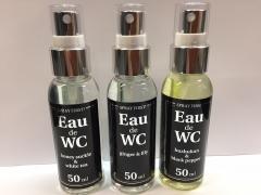 WC Deo - EAU de WC! neutralisiert schlechte Gerüche und bringt angenehme Frische in Bad & WC,