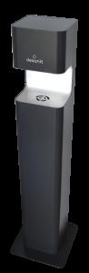 Desinfektionssäule 5 Liter Inhalt Premium Sensor non touch DISTA schwarz
