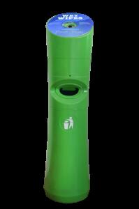 Wet Wipe Standspender grün
