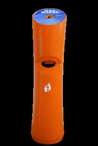 Wet Wipe Standspender Dosierspender für Desinfektionstücher Orange