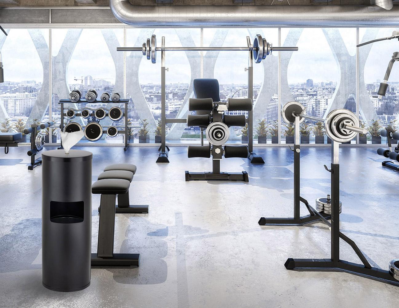 "Wet Wipes – die ""best wipes ever"" zur Desinfektion in Fitness-Studios, Fitness-Centern, Gyms, Sport-Studios, Gymnastik-Studios, Tanz-Studios und Yoga-Studios"